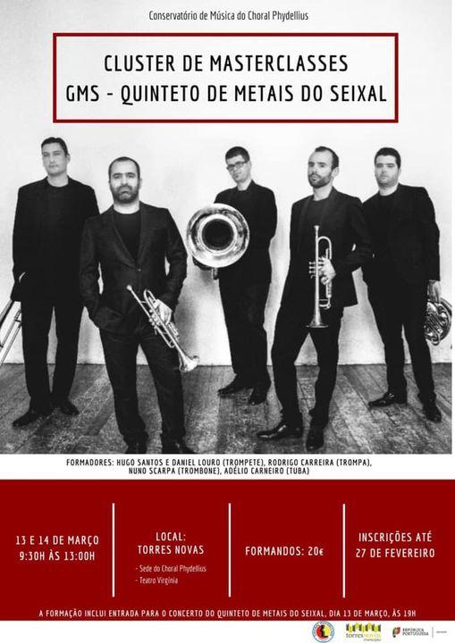 Concerto e masterclasse Torres Novas – 13 e 14 de Março 2021
